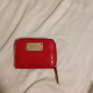Kate Spade Red Small Wallet EUC